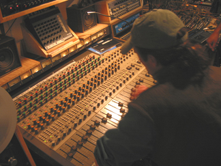 Jeff Mixing at GLEA