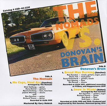 The Nomads vs. Donovan's Brain